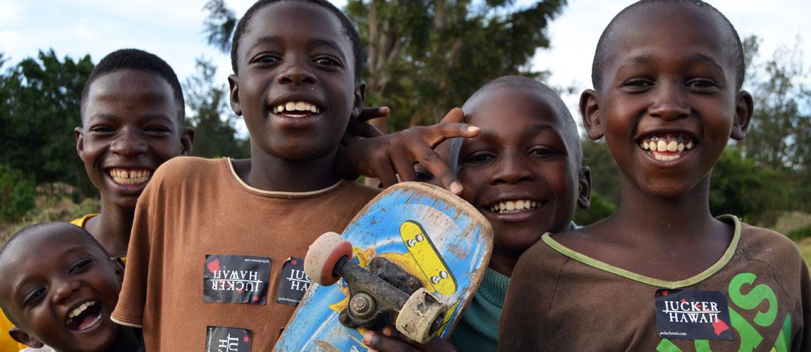 Skateboarding Ruanda